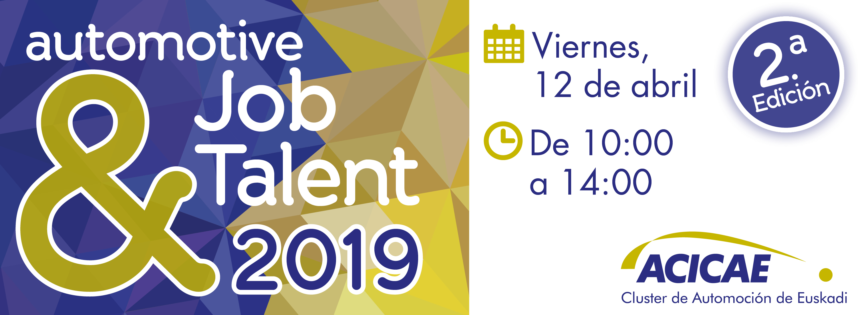 ACICAE organiza el Automotive Job&Talent Day 2019