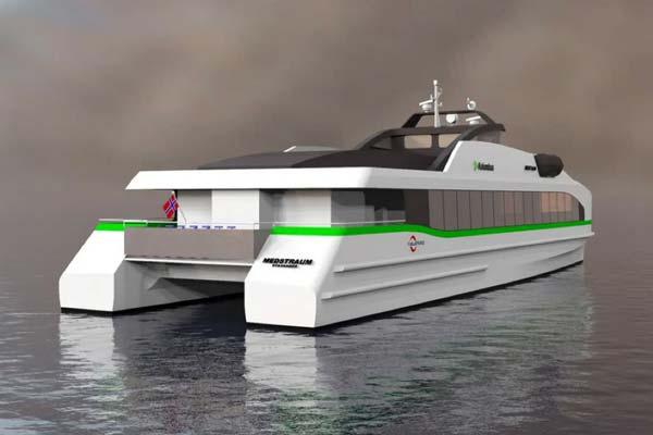 La empresa vasca Alconza participa en el primer ferry eléctrico de alta velocidad de Europa